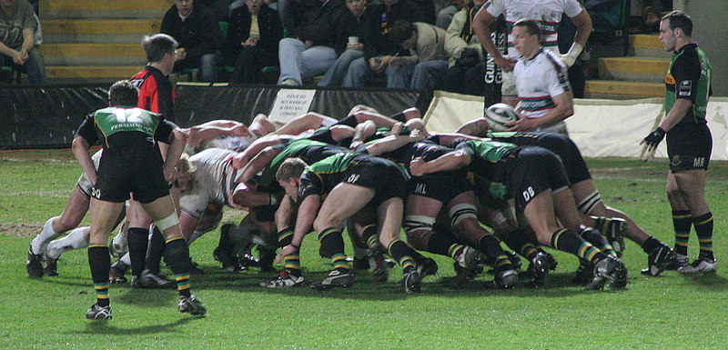 Northampton Saints vs Leicester Tigers, Guinness Premiership, Franklin's Gardens, 14 April 2006