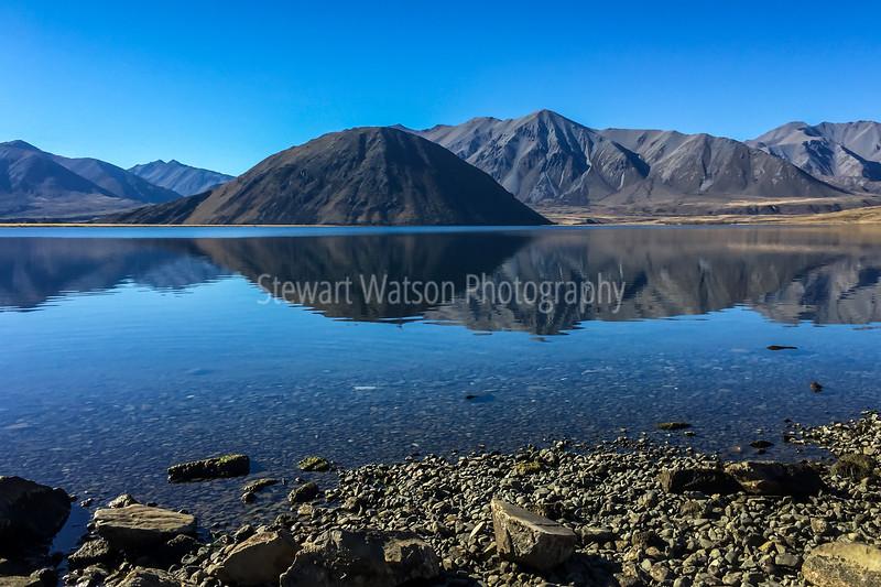 Lake Heron reflections