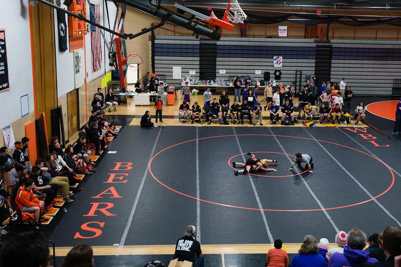 Wrestling January 16