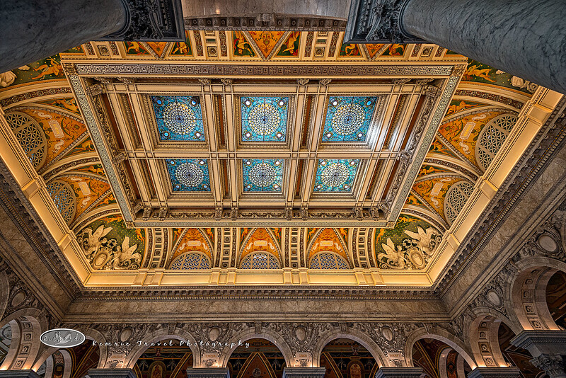 Ceiling in Library of Congress