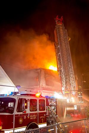 Belleville NJ 2nd alarm, 86 Belmont Ave. 11-28-15