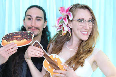 Sarah and Ian's Tiki Wedding