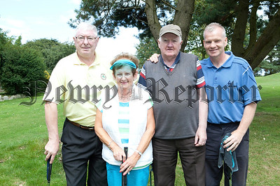 Finbar Oakley, Rosaleen Murphy, Tom McGuinness and Marty Magee.