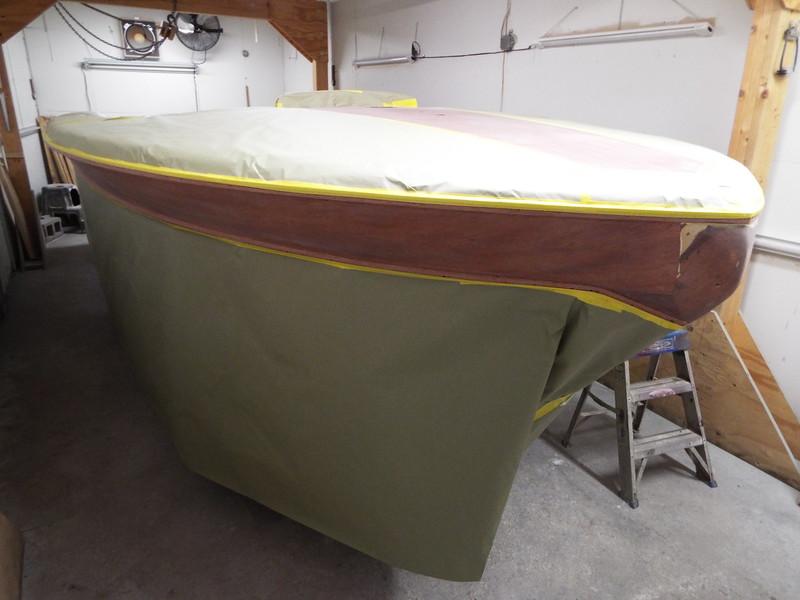 Starboard side masked off.