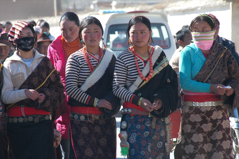 Tibetan Women - Xiahe, China