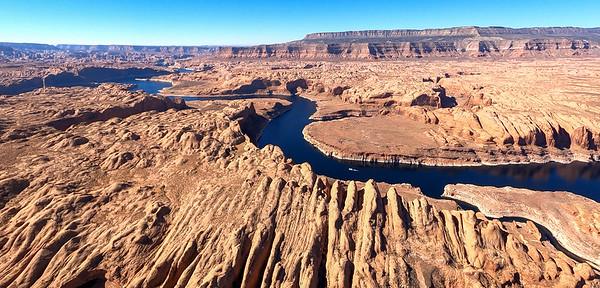 Lighthawk Colorado River Lake Powell Flight Oct 2020