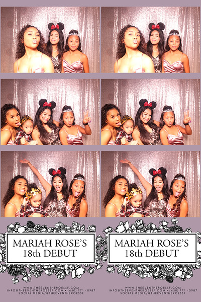 Mariah Rose's  18th  Debut   |  01.04.2020