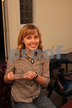 Kacie Hoyle Wins Award - January 2011
