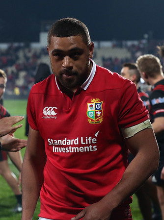 Toby Faletau, during game 3 of the British and Irish Lions 2017 Tour of New Zealand,The match between  Crusaders and British and Irish Lions, AMI Stadium, Christchurch, Saturday 10th June 2017 (Photo by Kevin Booth Steve Haag Sports)  Images for social media must have consent from Steve Haag