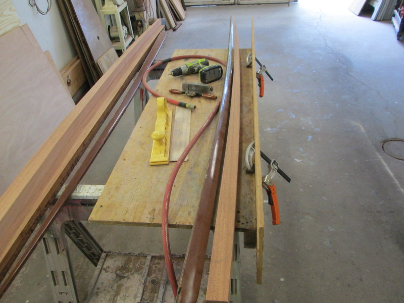 Starting to make the new spry rails.