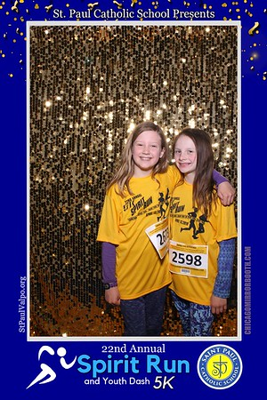 St. Paul Valparaiso Church Spirit Run 2019 Mirror Booth