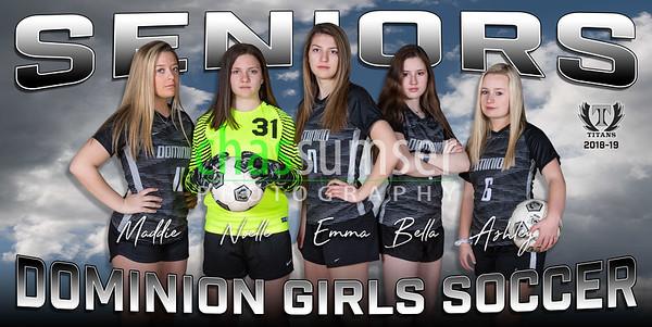 2019 Dominion Girls Soccer