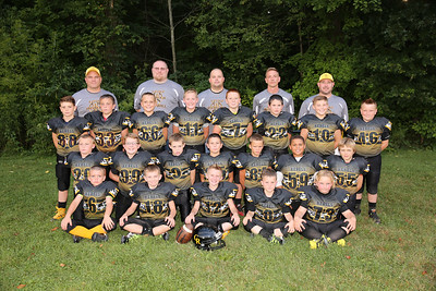 Crestview Little Rebels JV Football 2016