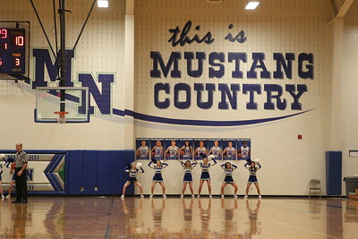 JV cheer (MN vs KEARNEY BBALL)