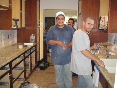 Kitchen Install - June 2009