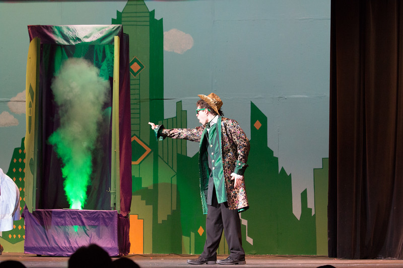 """The Wiz"", Montgomery Blair High School spring musical, March 26, 2017"