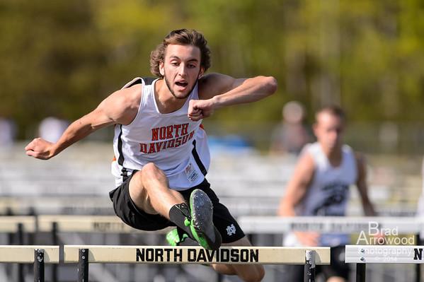 NDHS Track vs Ledford