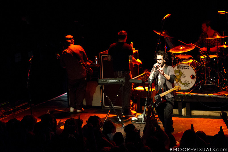 Motion City Soundtrack perform on April 24, 2010 at State Theatre in St. Petersburg, Florida