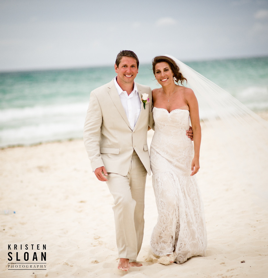 mexican beach destination wedding