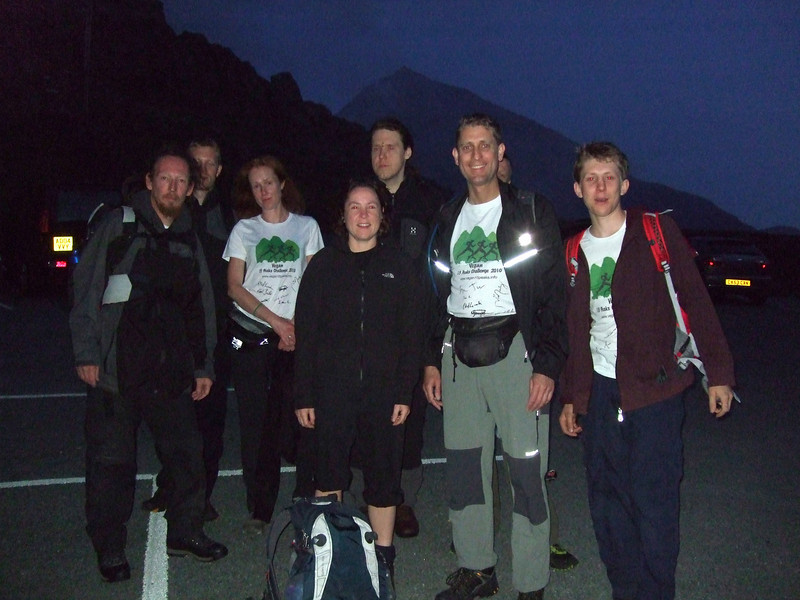 0415 start, Pen y Pass, Snowdonia