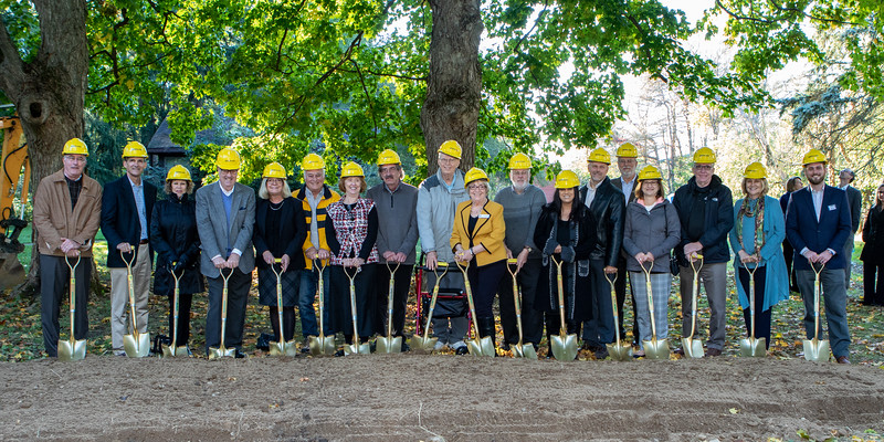 The Caring Place - New Building Project Ground Breaking