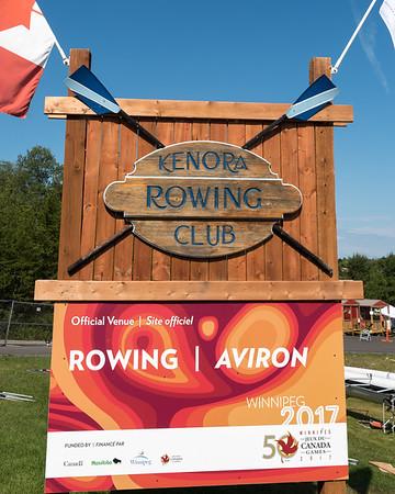 Rowing in Kenora - Last Day