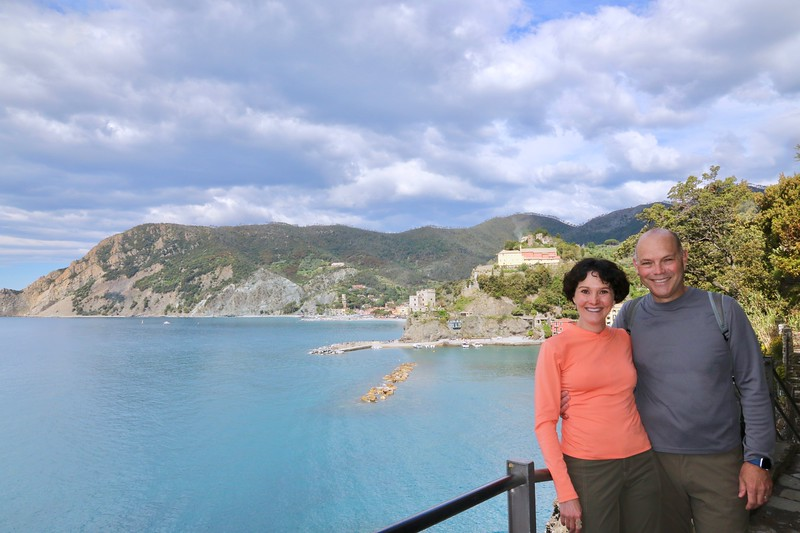 Arriving in Monterosso - hiking Cinque Terre