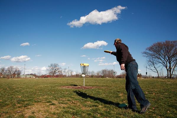 Steve disc golf