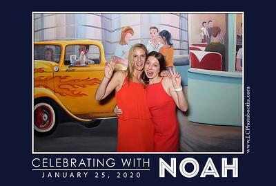 Noah's Bar Mitzvah 1-25-20
