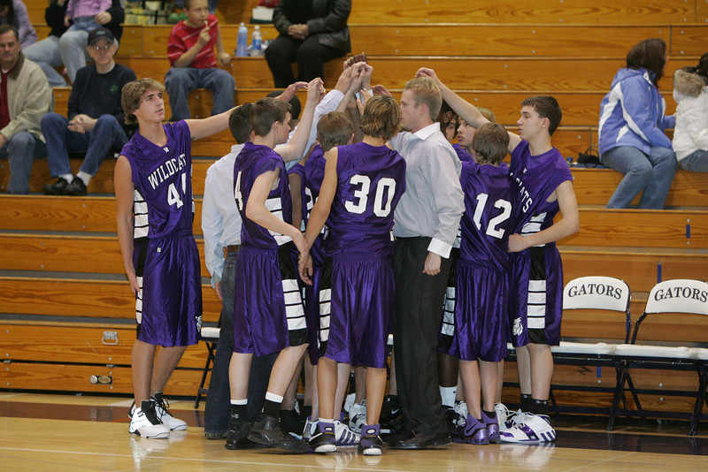 Awest Boys Basketball 2007-08