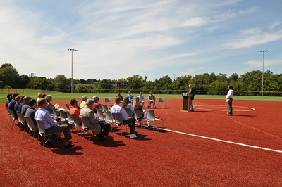 Recreation Field Complex Ribbon Cutting