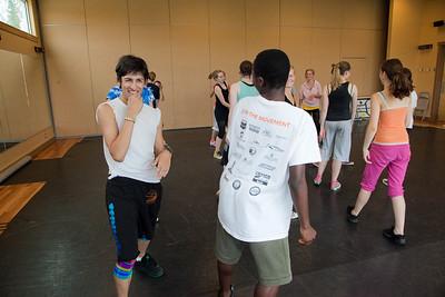 Dance classes at Artisan's Courtyard