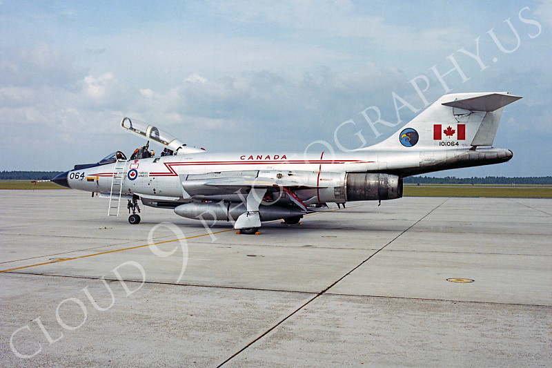 F-101BForg 00003 McDonnell F-101B Voodoo Canadian Armed Forces 101064 Tyndall AFB by Peter J Mancus .JPG