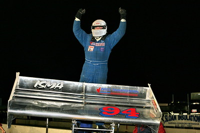ISMA Super Modifieds, Delaware Speedway, Delaware, ON, September 28, 2007