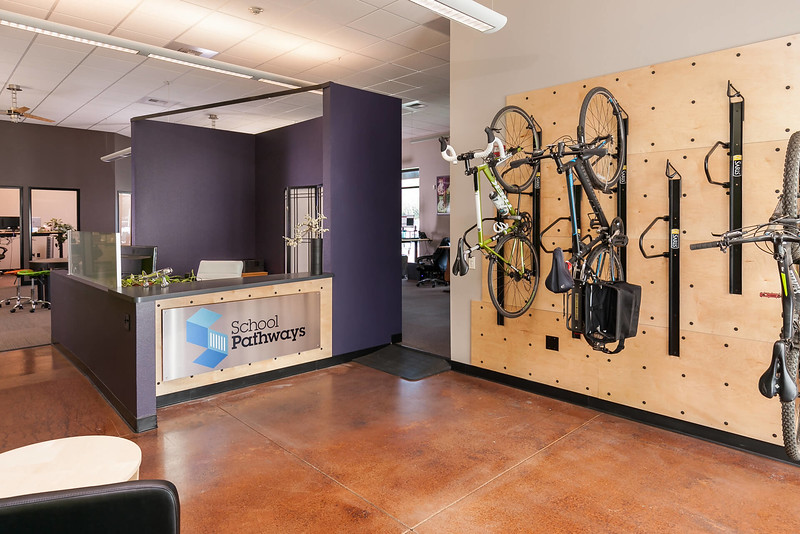 Chico Commercial Photography-Office-Lobby-with-wall-mounted-bike-rack.jpg