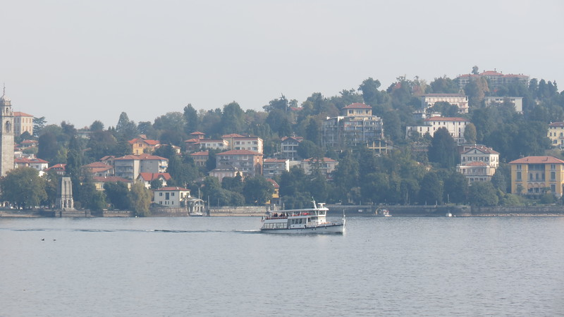 View of Stresa from Isola Madre