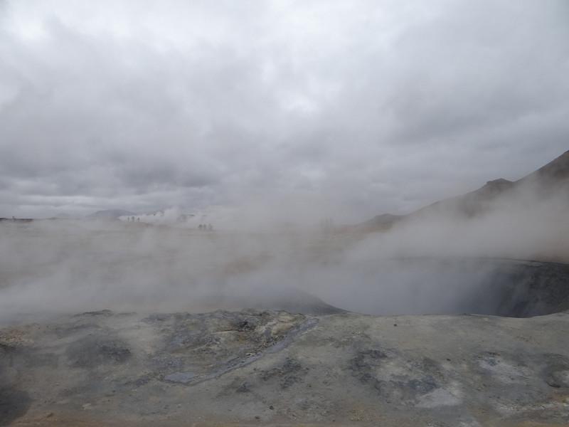 Námafjall sulfur mud pools