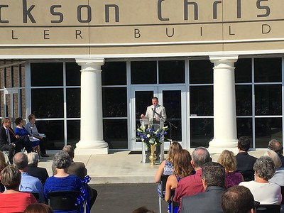 2016 Tyler Building Ribbon Cutting and 40th Anniversary Celebration