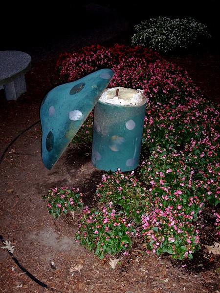 This Flower Power mushroom was broken.