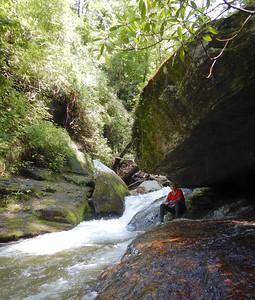 Eastatoe Narrows to Rock Bottom Falls
