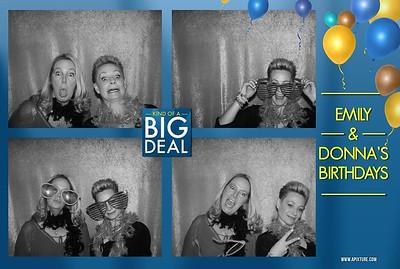 Emily & Donna's BIG Brithdays
