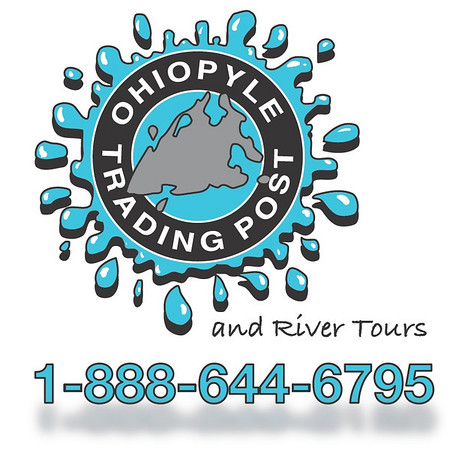 Ohiopyle Trading Post and River Tours Graphic Design Artwork