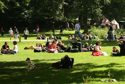 Foto's op het terrein, vrijdag 1-8-2008