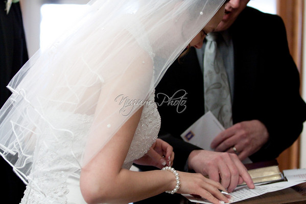 Marriage License - Mary and Duncan