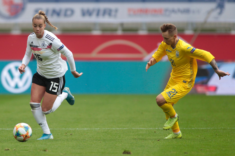 Germany - Ukraine - UEFA Women's EURO 2021 qualifying