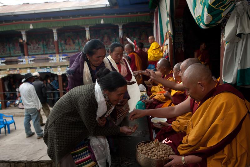 Mani Rimdu Festival at Chiwong Monastery. Solu, Nepal.