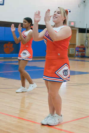 2011-02-08 Cheerleaders - Dayton vs Bendictine Academy