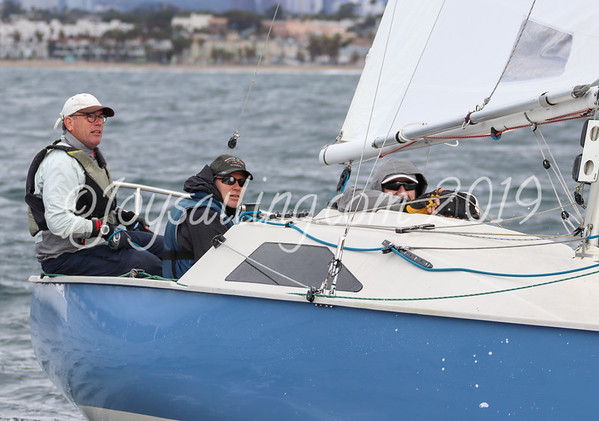 Martin 242's Midwinter Regatta at Cal Yacht Club