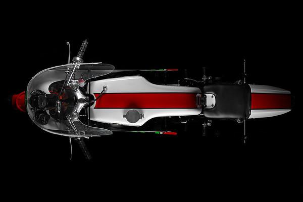 STROKE OF LUCK. Underground Custom's '74 Yamaha TZ250 Racer