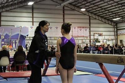 2016 PBM : Session 1 (1/30/16) : Falcon Gymnastics : Beam